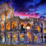 Die Colosseum in Rome